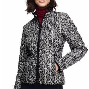 Lands End Packable Diamond Quilt Primaloft Jacket